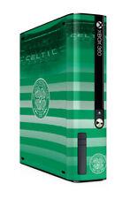 Xbox 360 E GO Console Skin Sticker Celtic Football Club Official Bhoys Brand New