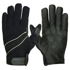 HUGGER Summer Mesh Motorcycle Riding Gloves with Reflective Piping