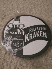 Kraken Black Spiced Rum Coasters New Sealed (Set Of 4)