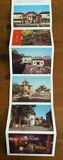 VINTAGE CHINATOWN Los Angeles California Folder Folding Postcard souvenir 60's