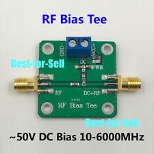 Bias Tee 10M-6000MHz 6GHz for HAM radio RTL SDR LNA Low Noise Amplifier 50VDC