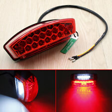 Objective Motorcycle Brake Stop Running Tail Light Rear Light Atv Dirt Bike Universal 12v 15 Led Home