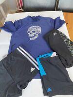 Boys Swim Thorts And Top Bundle Age 12/13/14 Adidas Infinitex