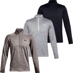 Under Armour Mens Coldgear® Armour Fleece 1/4 Zip Golf Jumper Tops Sweater