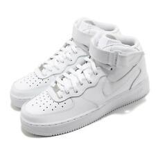 Nike Air Force 1 Mediados de 07 Triple Blanco Clásico De Hombre Zapatos Tenis Casuales CW2289-111