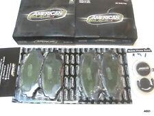 American Black ABD914C Ceramic Front Disc Brake Pads for Honda Accord CR-V