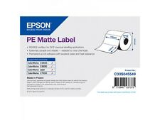 Epson Rouleau d'étiquettes c33s045549 plastique 102X152MM Mat Enduit
