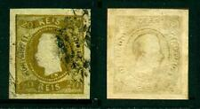 Portugal 1866/1867 – King Luiz 20 Reis] Curved Label in great used condition