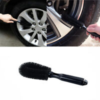 Car Wheel Cleaning Brush Tool Tire Washing Clean Tyre Alloy Soft Bristle Cleaner