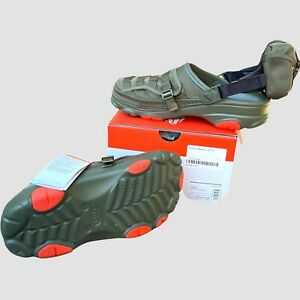 Crocs x Beams All Terrain Military Olive Size US 10 New With Box UK M 9 W 10