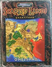 Scarred Lands Gazetteer: Ghelspad SC NEW Sealed RPG White Wolf Games