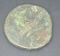 Grande un-Identified Roman Bronzo Moneta, 20.5 Gram, 30mm