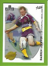 2001SELECT NRL IMPACT SERIES-ACCOLADES-A6-DARREN LOCKYER-BRONCOS