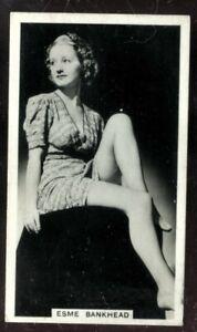 Tobacco Card,Ardath,PHOTOCARDS FILM ETC GROUP M Standard,1939,Esme Bankhead