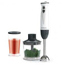 Kambrook 500W Stick Mixer Handheld Electric Hand Blender Food Processor White