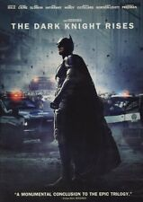 BATMAN DVD - THE DARK KNIGHT RISES (2012) - NEW UNOPENED - CHRISTIAN BALE