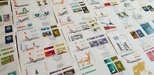 Flugpostbriefe - Auswahl - diverse Erstflug SWISSAIR etc.Aufgabe UNO Genf Geneve