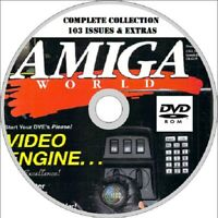 AMIGA WORLD computer magazine COMPLETE COLLECTION 103 issues & EXTRAS  2 x DVD
