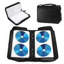 120 Sleeve CD-DVD Blu Ray Disc Carry Case Holder Wallet Storage Ring Binder UK