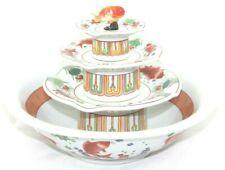Table Top Indoor Ceramic Koi Gold Fish Japanese Pagoda Fountain