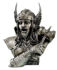 Büste Thor Donnergott Thor Nordische Götterfigur Wikinger Figur Odins Sohn