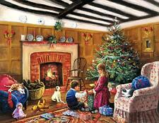 SUNSOUT EASY GRASP PUZZLE CHRISTMAS MORNING GIFTS KEVIN WALSH 1000 PCS #13790