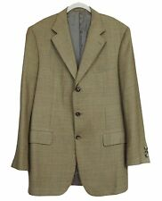 ENRICO ISAIA NAPOLI Mens Jacket Hand Tailored 100% Cashmere Size 54 US 44