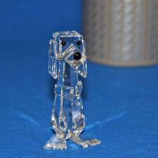 Swarovski Crystal Dog Standing Pluto 7635 070 000 - 010024 New In Box COA 47