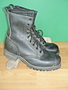 Frye Black Logger  Boots US Woman's 11 M