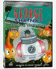 George Shrinks - Sunken Treasures Vol. 2 NEW DVD RARE! Buy 2 Items-Get $2 OFF