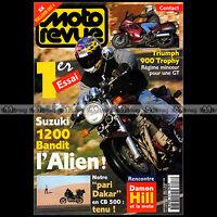 MOTO REVUE 3218 DAMON HILL SUZUKI 1200 BANDIT TRIUMPH 900 TROPHY QUEBEC 1996