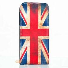 Etui clapet pour iPhone 5-5S-SE Drapeau Anglais Vintage