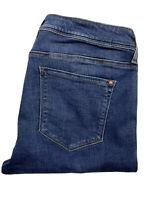 Mavi Gold Alexa Jeans Womens Size W32 L32 Skinny Mid Blue Mid Rise Skinny