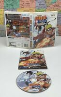 SHIPS SAME DAY Naruto Shippuden DRAGON BLADE CHRONICLES Nintendo Wii Complete