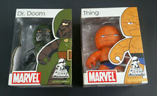 NEW - Marvel Mighty Muggs LOT Dr Doom & The Thing - FREE SHIPPING!!
