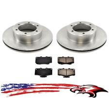 Brand New Front Rotors & Brake Pads for Toyota Pickup 89-95 4 Wheel Drive 4x4