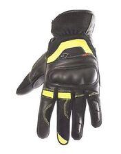 Gants jaunes pour motocyclette Eté