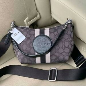 Coach Dempsey Shoulder Bag in Signature Jacquard 5483