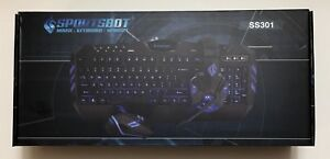 SportsBot SS301 Gaming Over-Ear Headset Headphone Keyboard Mouse