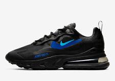 Nike Air Max 270 React CT2203-001 Black Royal Blue Men's Lifestyle Running Shoes