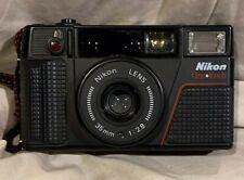 Vintage Nikon One Touch L35AF2 Point & Shoot 35mm Camera f2.8 Lens *SEE DESCRIPT