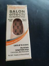 Sally Hansen Salon Effects Headbanger 807 nail polish strips skull glitter