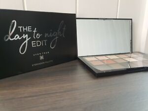 Avon Eyeshadow Palette The Day To Night Edit 15 shades mirrored compact , new