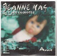 JEANNE MAS anna CD SINGLE neuf