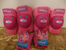 Youth Skating Girls Lalaloopsy Pink Elbow Pads Knee Pads & Matching Gloves Set