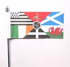 Pan Celtic Nations Ultimate Table Flag