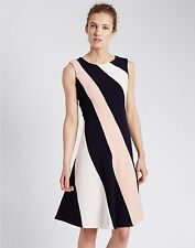 Marks and Spencer Skater Casual Striped Dresses for Women