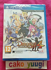 Disgaea 4 a Promise Revisited Sony PS Vita tres bon Etat Version 100 francaise