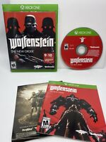 WOLFENSTEIN THE NEW ORDER Microsoft XBOX ONE Video Game Tested & Working