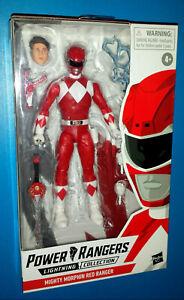 "Power Rangers Lightning Collection Red Ranger Jason Mighty Morphin figure 6"""